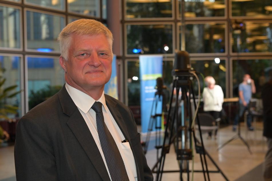 Ulrich Oehme (60, AfD) hatte mit dem Ergebnis gerechnet.