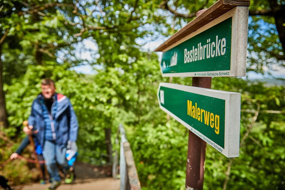 Der Malerweg ist der beliebteste Wanderweg im ganzen Land.