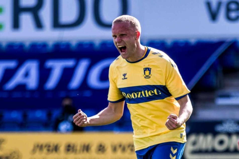 Mit Bröndby IF holte Hjörtur Hermannsson (26) in der vergangenen Saison die dänische Meisterschaft.