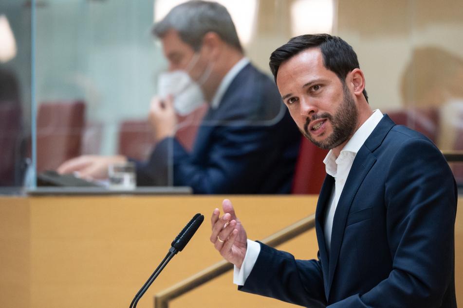 Martin Hagen, Fraktionsvorsitzender der FDP im Bayerischen Landtag.