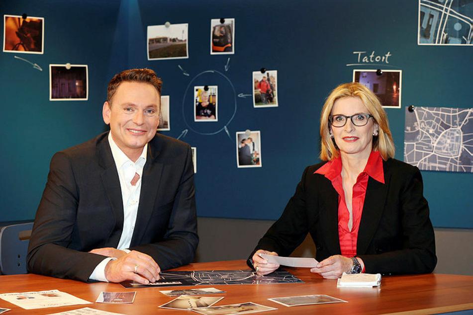 """""""Kripo live""""-Moderator Axel Bulthaupt (54) führt seit sieben Jahren durch die Sendung. Zuvor war dafür 21 Jahre lang Birgit von Derschau (66) zuständig."""