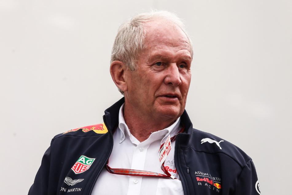 Red-Bull-Motorsportberater Helmut Marko (76).