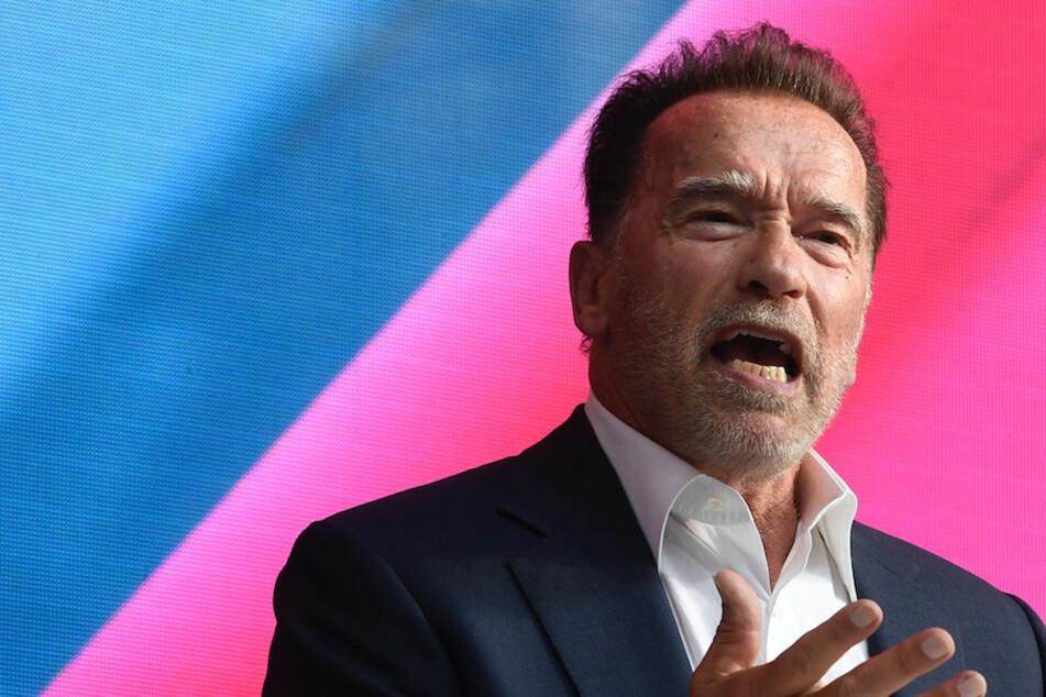 Arnold Schwarzenegger spricht über das Klima: Mit fünf Protzautos will er die Welt retten