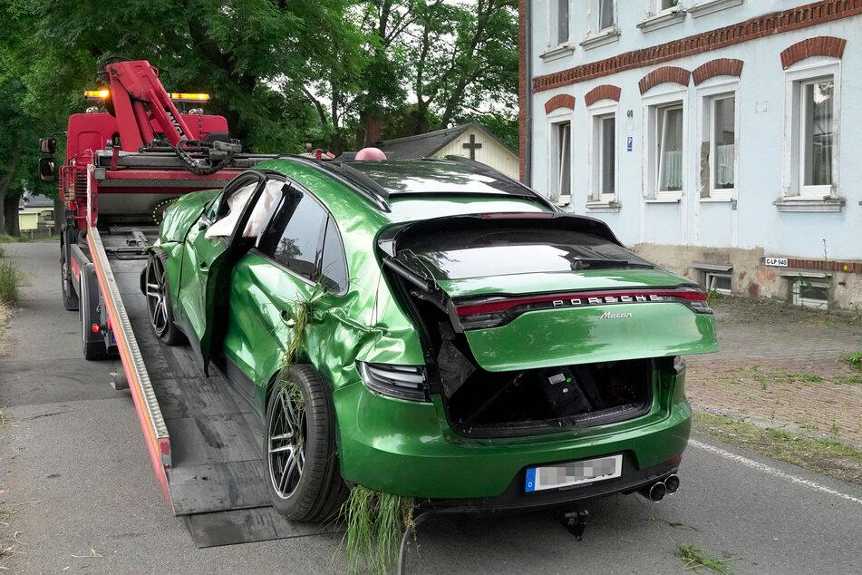 55.000 Euro Schaden entstand an dem sportlichen SUV.