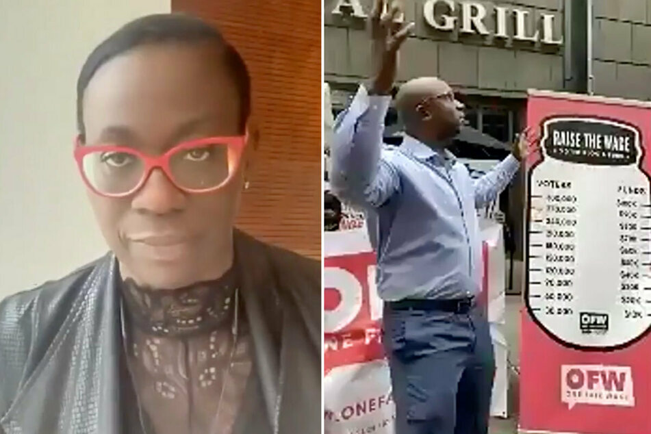 """""""This is modern-day slavery"""": Nina Turner and Jamaal Bowman speak out at Raise the Wage Voter Rally"""