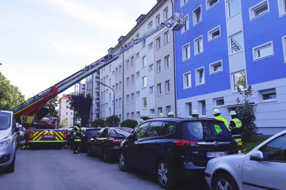 Brand in München: Für 85-Jährige kommt jede Hilfe zu spät