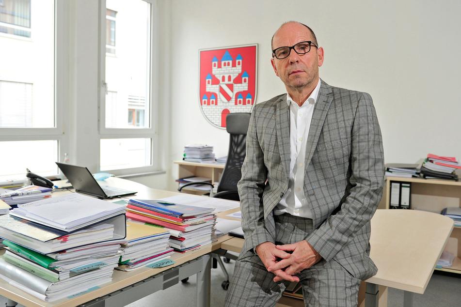 Meeranes Bürgermeister Prof. Lothar Ungerer (62, parteilos).