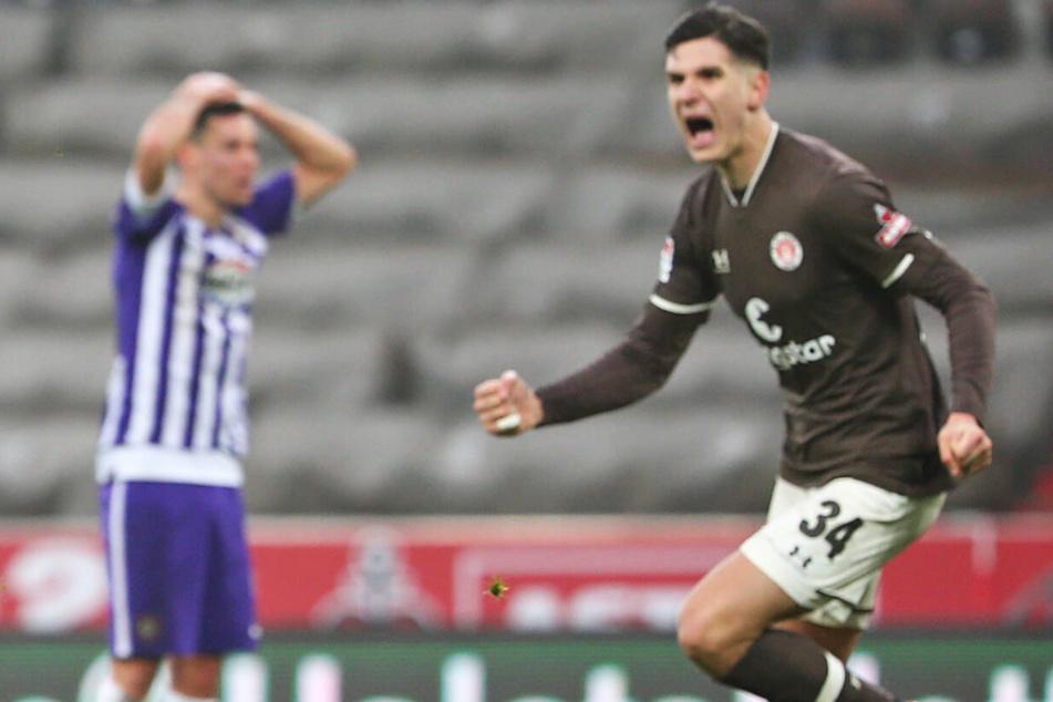 Igor Matanovic ist nun der jüngste Torschütze in der Vereinsgeschichte des FC St. Pauli. (Archivfoto)