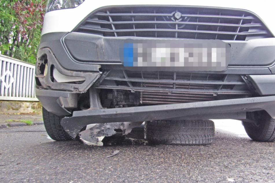 """Kurioser Polizeieinsatz: """"Achtung, da rollt ein Rad!"""""""