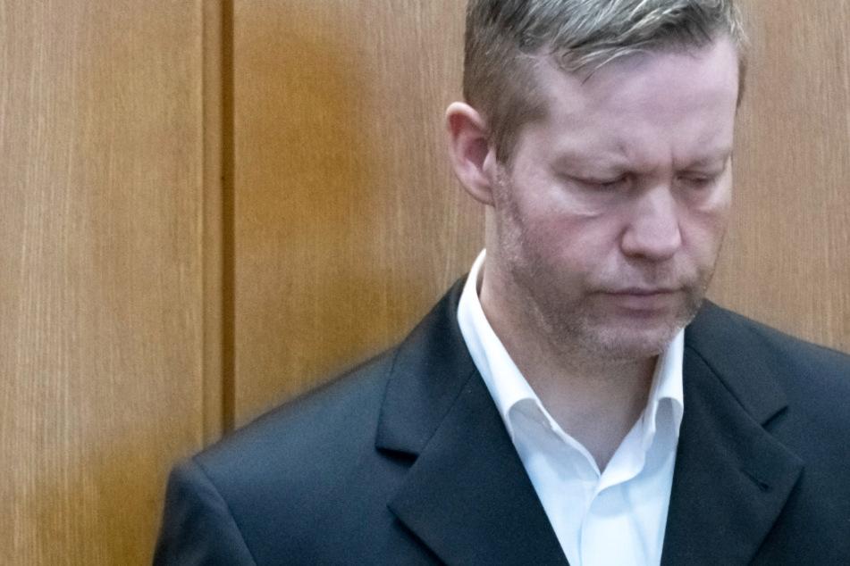 Das Foto vom 16. November zeigt Stephan Ernst, den Hauptangeklagten im Prozess um den Mordfall Walter Lücke.