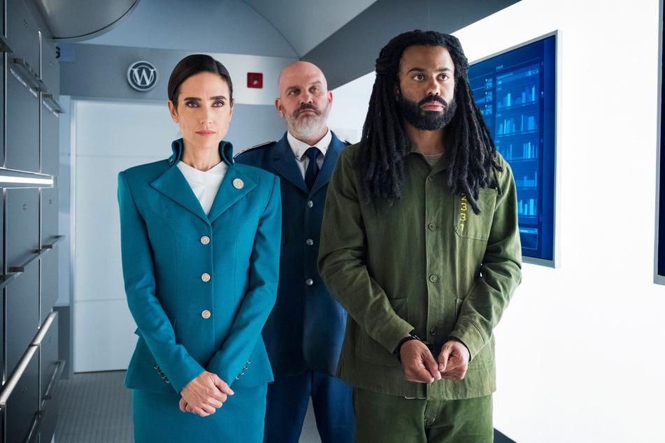 Hauptprotagonist Layton (rechts) wird von Melanie Cavill (links) engagiert, um eine ungelöste Mordserie aufzudecken.