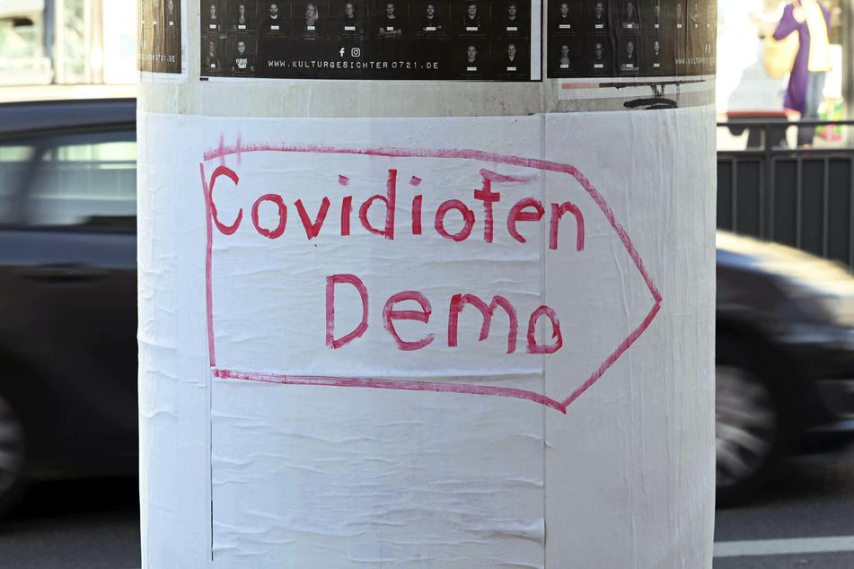 Düsseldorf: Wenige Teilnehmer bei Demo von Corona-Kritikern