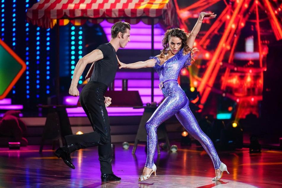 Auch Moritz Hans und Renata Lusin zeigten eine starke Leistung.