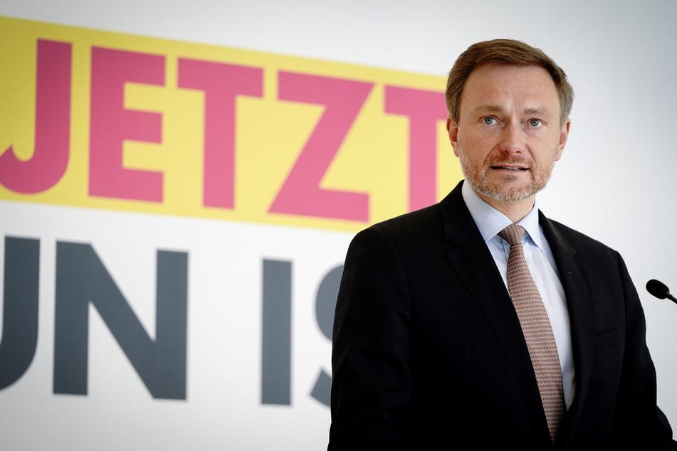 """FDP-Chef Christian Lindner (42) fordert 3G-Regel"""" für Geimpfte, Genesene und Getestete."""