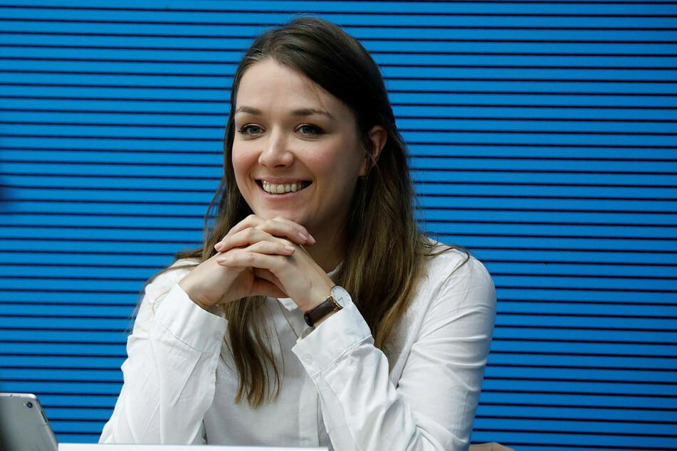 Julia Ulrike Schramm (35, Die Linke).