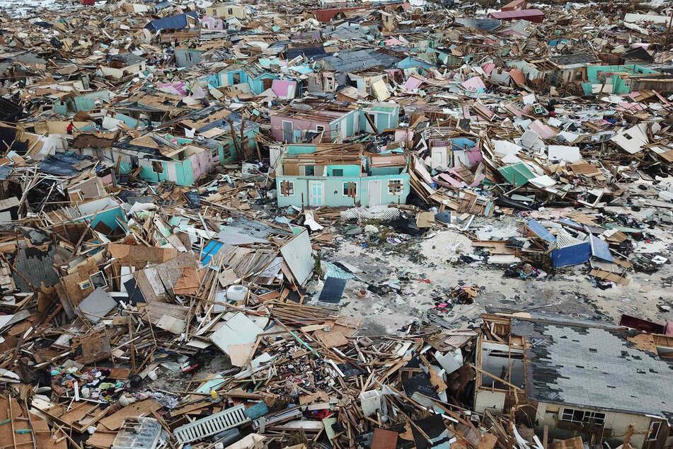 Häuser, die durch einen Hurrikan zerstört wurden. Auch solche Katastrophen spielen eine Rolle im Weltrisikobericht.