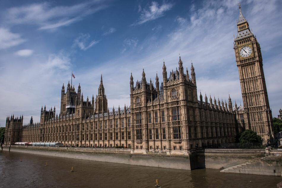 Der Westminster-Palast, eines der Wahrzeichen der Stadt und Sitz des britischen Parlaments.