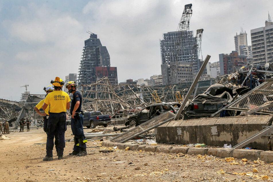 Hafen-Vertreter nach Explosion in Beirut festgenommen