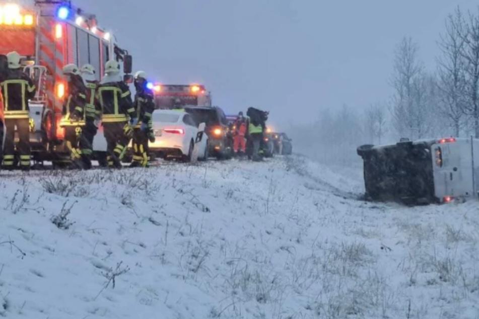 Schnee und Glätte in Leipzig und Umgebung: Hier hat es überall gekracht!