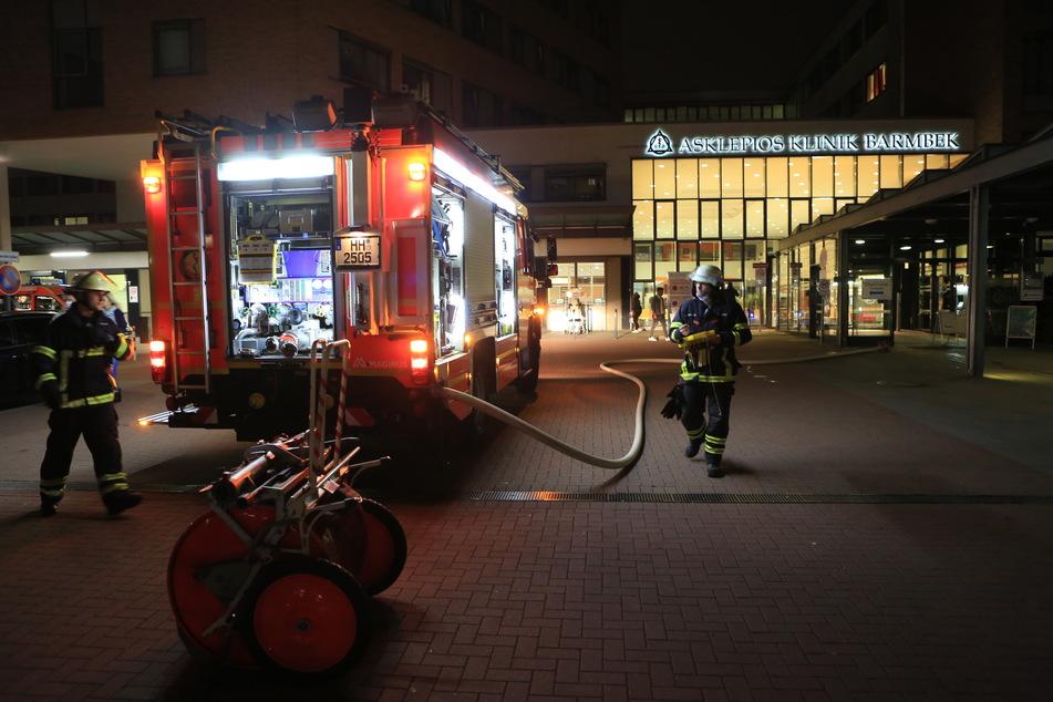 Feuer im Krankenhaus: Station im AK Barmbek evakuiert