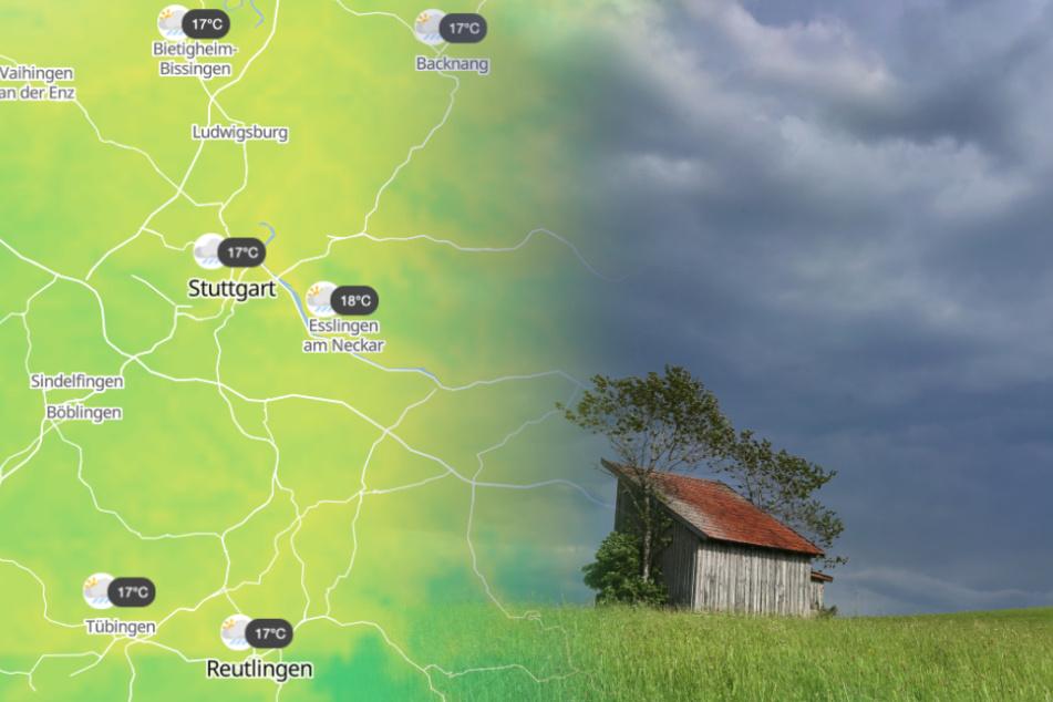 Starkregen und Hagel: So ungemütlich wird es im Ländle