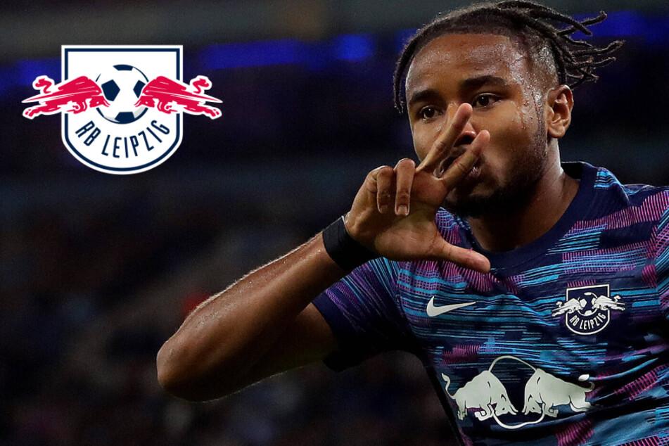 """RB Leipzigs Nkunku mit breiter Brust: """"Haben in Paris eine Chance!"""""""
