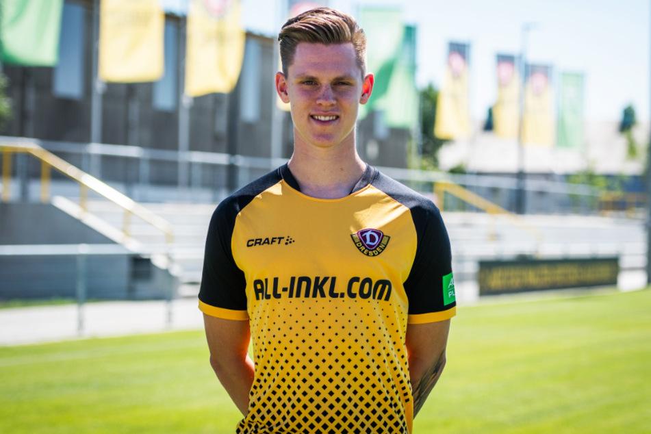 Julius Kade (21) ist Dynamo Dresdens zehnter Neuzugang.
