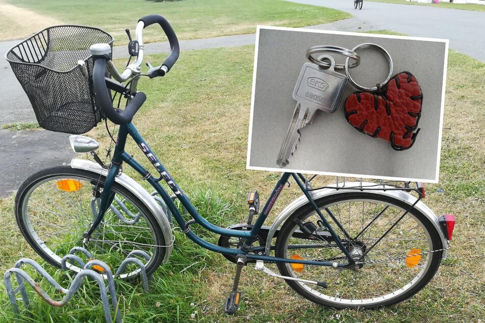 Die Polizei fand ein Fahrrad, Kleidung und einen Schlüssel mit Herz-Anhänger nahe der Unglücksstelle.