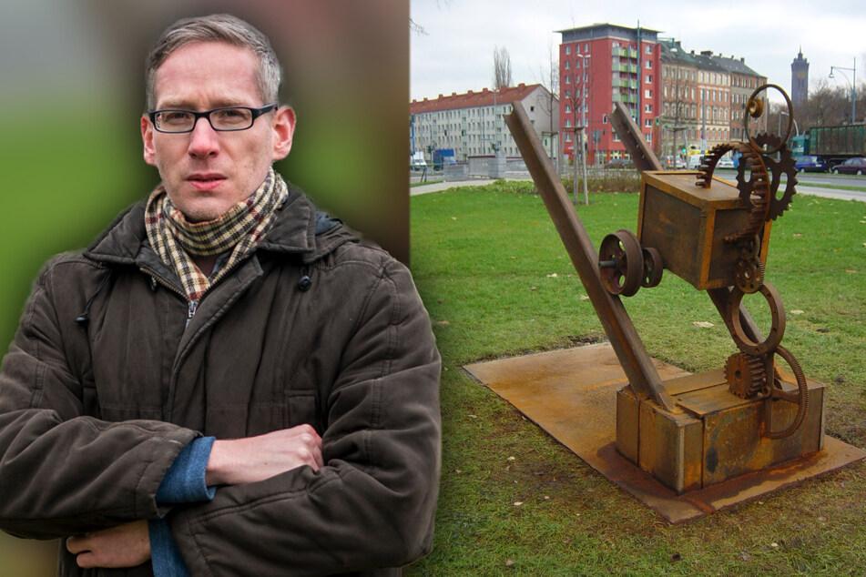 Chemnitz: Spurlos verschwunden! Rätsel um einzige Hartmann-Skulptur