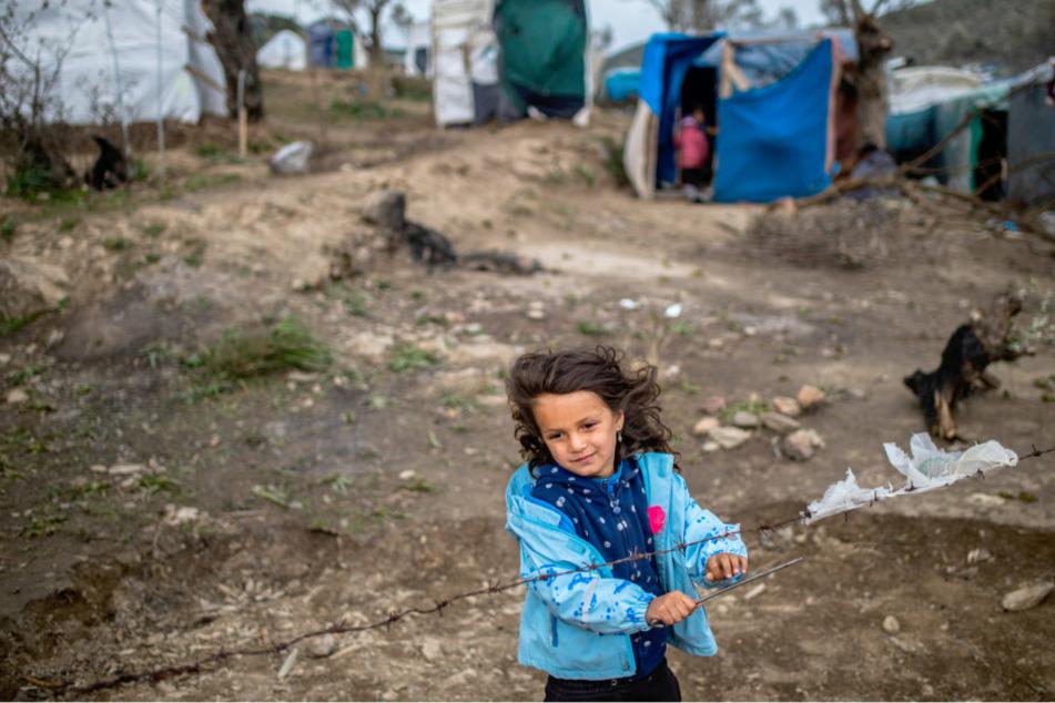 Aus Lager auf Lesbos: Minderjährige Flüchtlinge haben Berlin erreicht