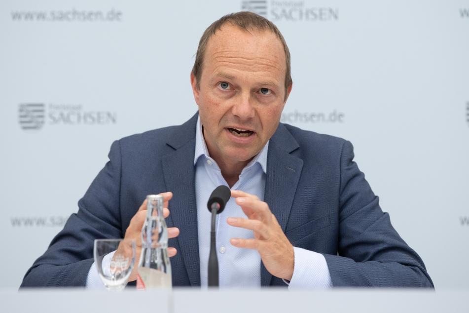 Vizeminister Wolfram Günther (47, Die Grünen) spricht über einen Perspektivplan.