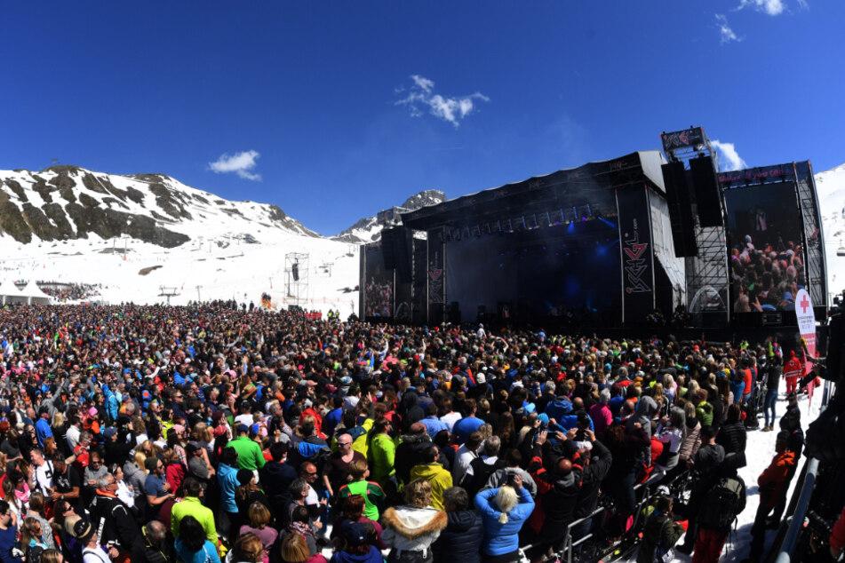 2018 gab Helene Fischer ein Konzert auf 2300 Metern Höhe.