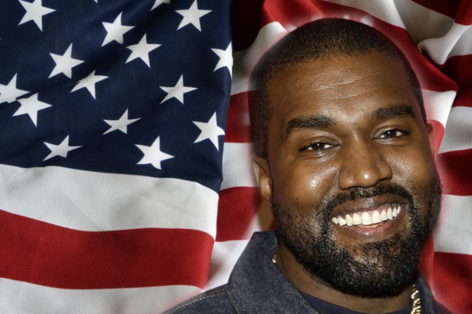 """Kanye West mit schrägem Plan: """"Ich kandidiere für die Präsidentschaft"""""""