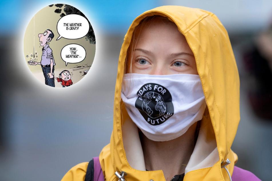 Warum postet Greta Thunberg schon wieder einen Comic?