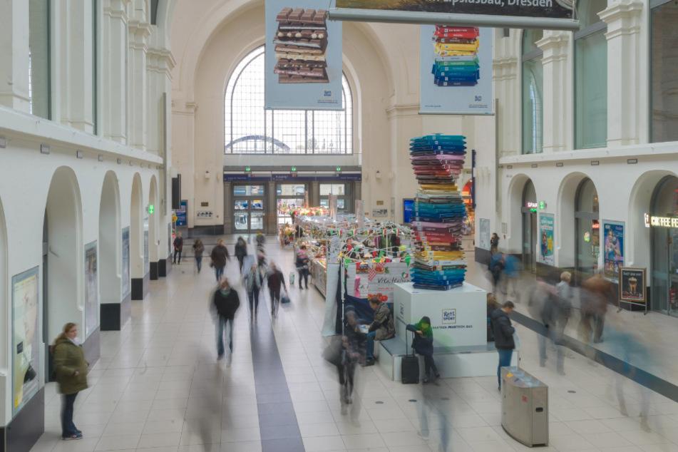 Die Tat geschah im Dresdner Hauptbahnhof. (Archivbild)