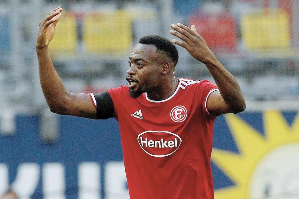 Khaled Narey (27) musste den Hamburger SV im Sommer verlassen und spielt nun für Fortuna Düsseldorf. Am Samstag kommt es zum Wiedersehen.
