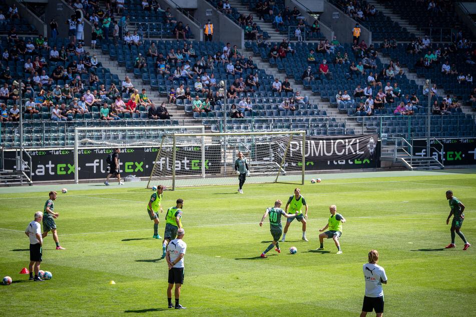 Nordrhein-Westfalen, Mönchengladbach: Fußball: Bundesliga, Trainingsauftakt Borussia Mönchengladbach.