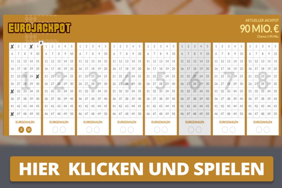 Am Freitag habt Ihr die Chance auf 90 Mio. Euro.