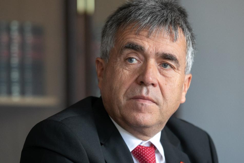 Für den Ausbau der A4: Bautzens Landrat Michael Harig (59, CDU).