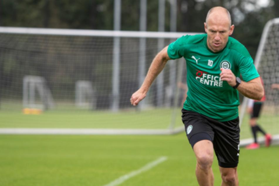 Mega-Comeback: Bayern-Legende Arjen Robben steht wieder auf dem Platz