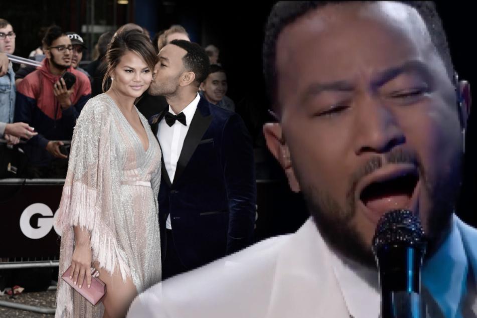 Ergreifender Abschied von verstorbenem Baby: John Legend unter Tränen bei Live-Auftritt