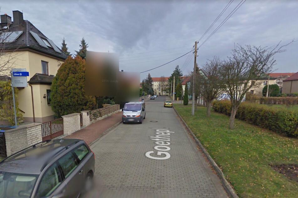 Am Goetheplatz überfielen die Teenager den 18-Jährigen. (Archivbild)