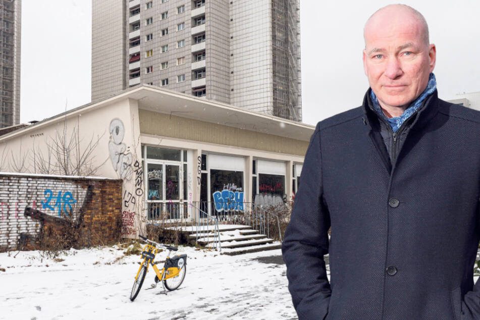 """Das """"pick-nick"""" gibt den Löffel ab: Alte Kult-Gaststätte weicht siebenstöckigem Neubau"""
