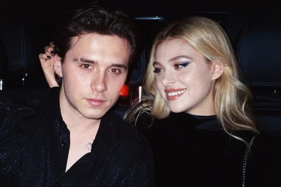 Brooklyn Beckham und seine Verlobte Nicola Peltz sind sichtlich verliebt.