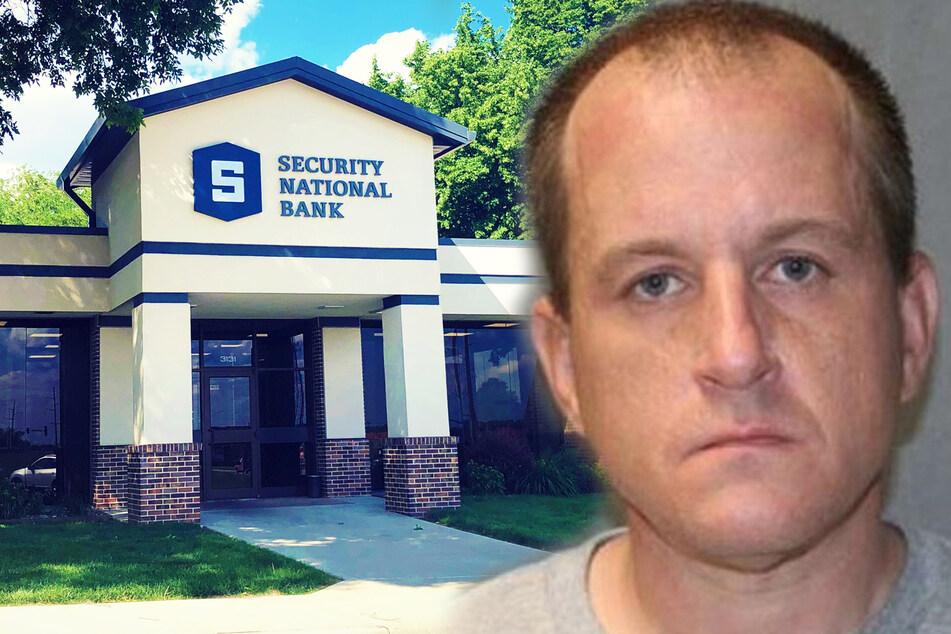 Mann bricht in Bank ein: An das Geld will er aber nicht