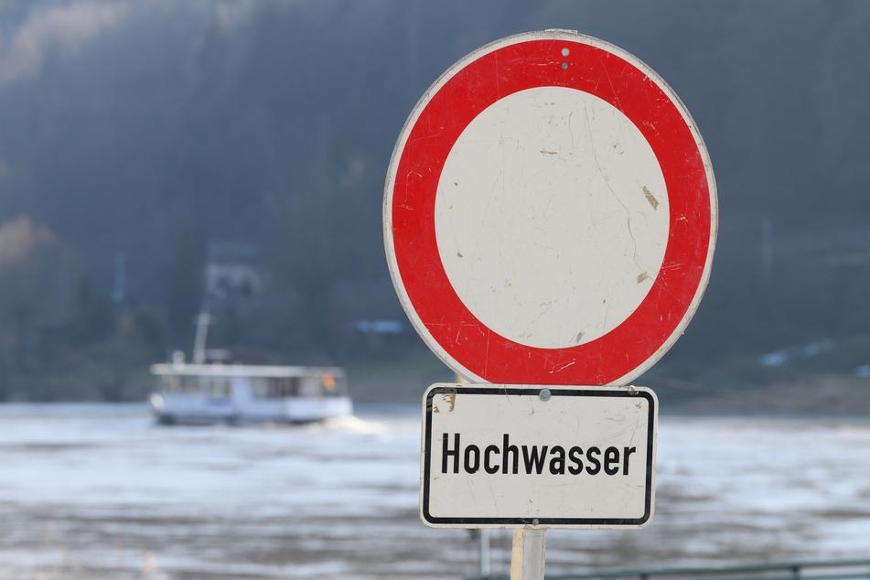 Am Samstag wird in Sachsen heftiger Regen erwartet, manchen Flüssen droht deshalb womöglich Hochwasser.