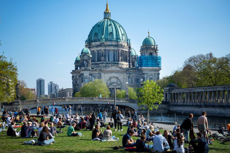 Berlin: Polizei sprengt riesige Corona-Party im James-Simon-Park