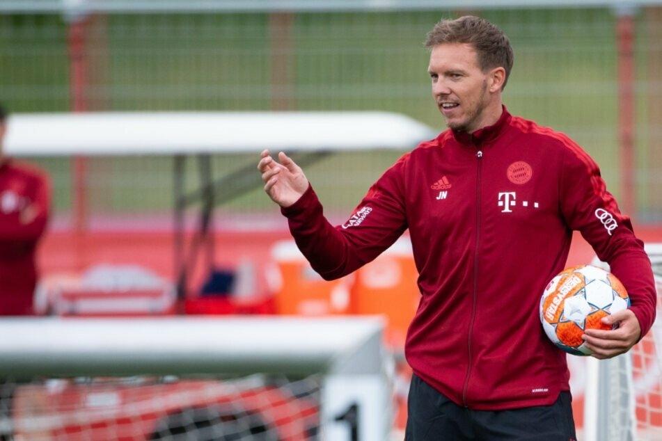 Bayern-Trainer Julian Nagelsmann (34) will sich mit seinem Team weiterhin an der Tabellenspitze halten.
