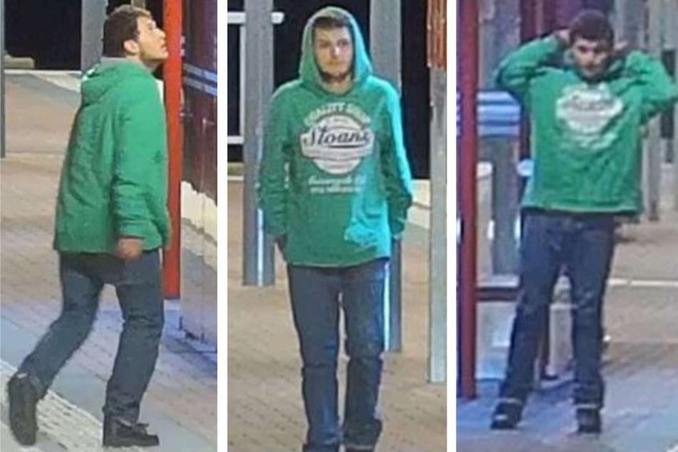 Die Polizei fahndet nach einem bewaffneten Raubüberfall im März 2021 in Bornheim noch immer nach dem Täter und veröffentlichte nun Fotos.