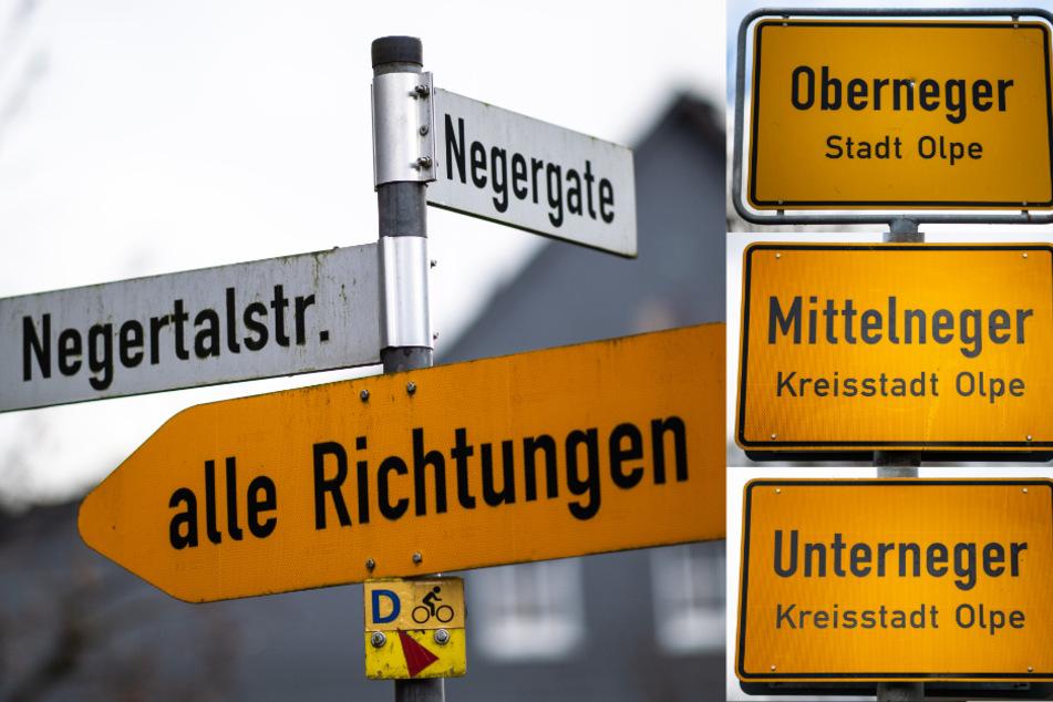 Neben den Ortsnamen selbst sind auch einige Straßennamen nicht frei von Kritik.